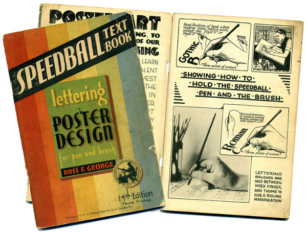 Museum Of Forgotten Art Supplies Speedball Lettering